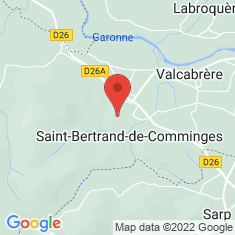 Carte / Plan Saint-Bertrand-de-Comminges