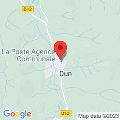Carte / Plan Dun (Ariège)