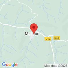 Carte / Plan Malléon