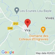 Carte / Plan Vira (Ariège)