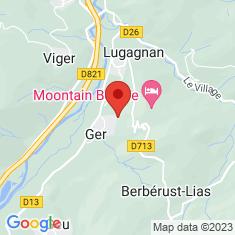 Carte / Plan Ger (Hautes-Pyrénées)