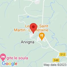Carte / Plan Arvigna