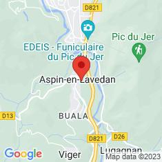 Carte / Plan Aspin-en-Lavedan