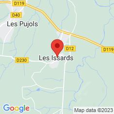 Carte / Plan Les Issards