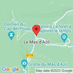 Carte / Plan Le Mas-d'Azil