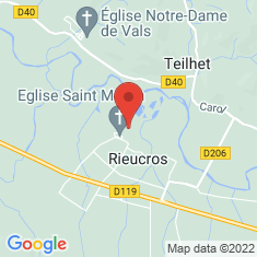 Carte / Plan Rieucros