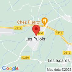 Carte / Plan Les Pujols
