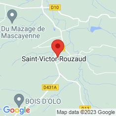 Carte / Plan Saint-Victor-Rouzaud