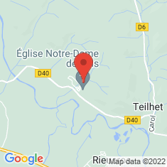 Carte / Plan Vals (Ariège)