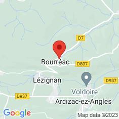 Carte / Plan Bourréac
