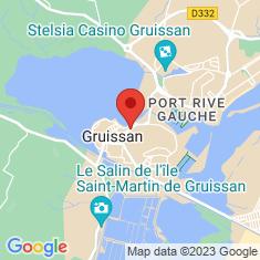 Carte / Plan Étang de Gruissan