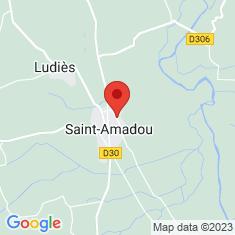 Carte / Plan Saint-Amadou