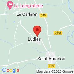 Carte / Plan Ludiès