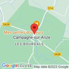 Carte / Plan Campagne-sur-Arize