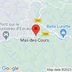 Carte / Plan Mas-des-Cours