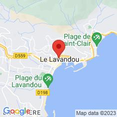 Carte / Plan Le Lavandou