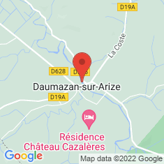 Carte / Plan Daumazan-sur-Arize