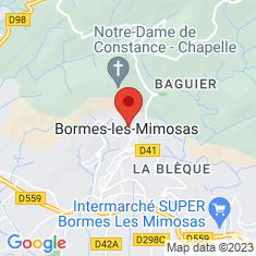 Carte / Plan Église Saint-Trophyme de Bormes-les-Mimosas