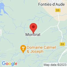 Carte / Plan Montirat (Aude)