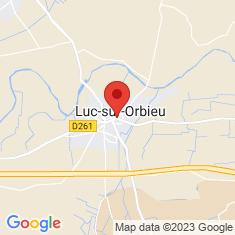 Carte / Plan Luc-sur-Orbieu