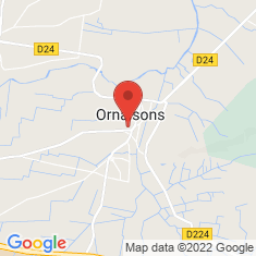 Carte / Plan Ornaisons