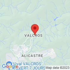 Carte / Plan Golf de Valcros