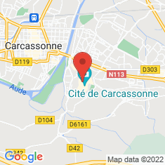 Carte / Plan Cité de Carcassonne