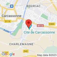 Carte / Plan Cité de Carcassonne
