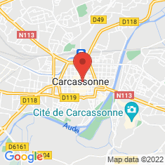 Carte / Plan Carcassonne