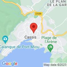 Carte / Plan Cassis (Bouches-du-Rhône)