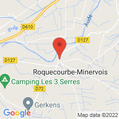 Carte / Plan Roquecourbe-Minervois