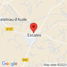 Carte / Plan Escales (Aude)