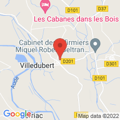 Carte / Plan Villedubert