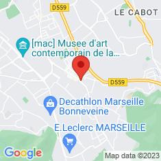 Carte / Plan Église de Mazargues