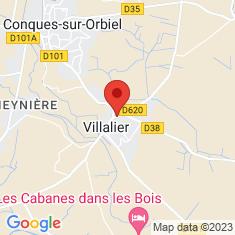 Carte / Plan Villalier