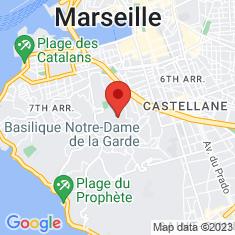 Carte / Plan Basilique Notre-Dame-de-la-Garde