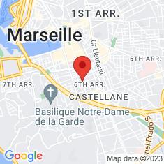 Carte / Plan Église Saint-Joseph de Marseille