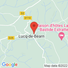 Carte / Plan Lucq-de-Béarn