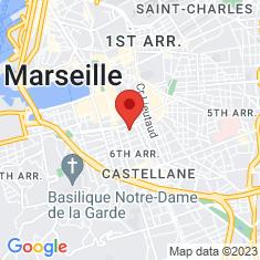 Carte / Plan Hôtel de préfecture des Bouches-du-Rhône