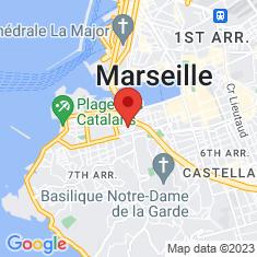 Carte / Plan Abbaye Saint-Victor de Marseille
