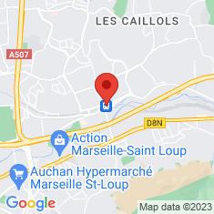 Carte / Plan Gare de La Pomme
