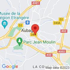 Carte / Plan Aubagne