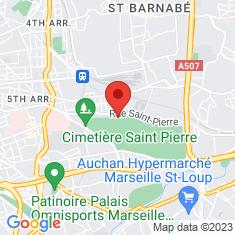 Carte / Plan Cimetière Saint-Pierre