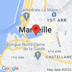 Carte / Plan Vieux-Port de Marseille