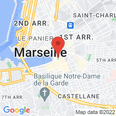 Carte / Plan Place du Général-de-Gaulle (Marseille)
