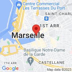 Carte / Plan Église des Augustins de Marseille