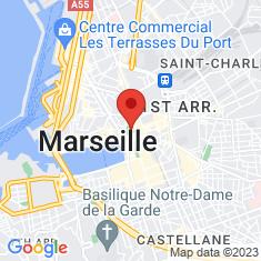 Carte / Plan Jardin des Vestiges
