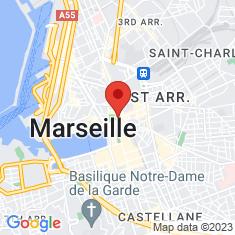 Carte / Plan Musée d'histoire de Marseille