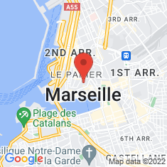 Carte / Plan Hôtel-Dieu de Marseille