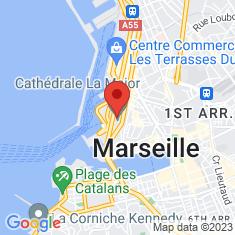 Carte / Plan Cathédrale Sainte-Marie-Majeure de Marseille
